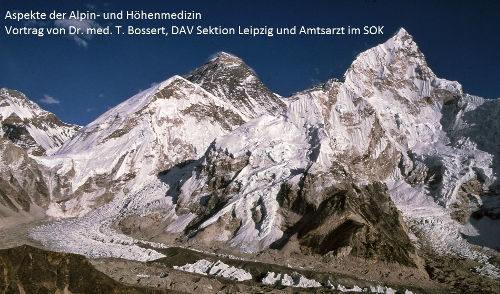 Artikelbild zu Artikel Vortrag von Dr. Bossert über Alpin und Höhenmedizin