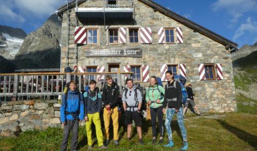 Artikelbild zu Artikel JDAV Alpentour auf die Darmstädter Hütte